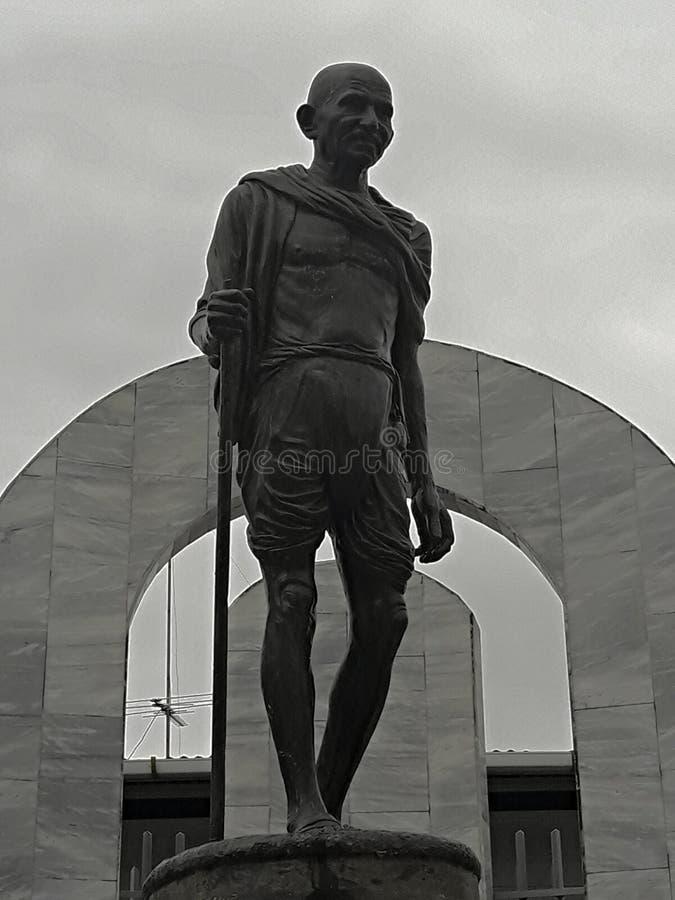 Gandhi fotografie stock