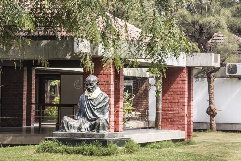 Gandhi Ahshram, Ahmedabad royalty-vrije stock afbeeldingen