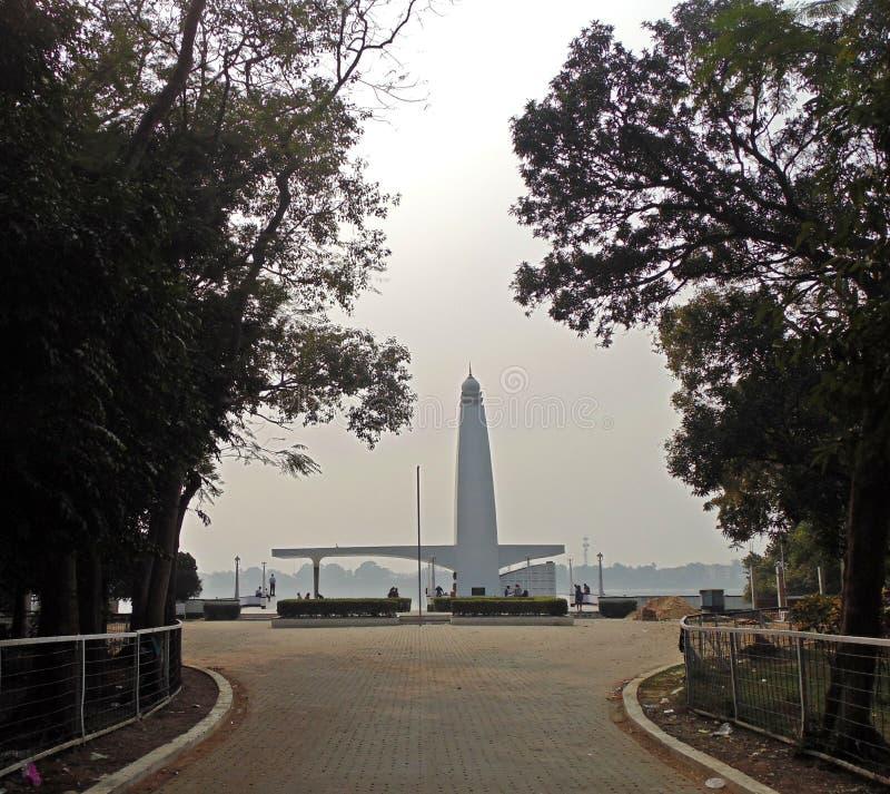 Gandhi Ghat, Barrackpore, Kalkutta, Indien lizenzfreie stockfotografie