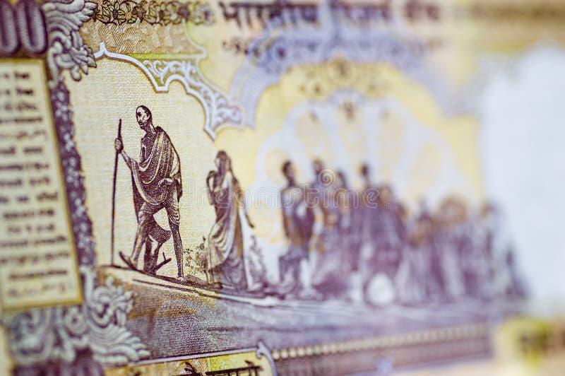 Download Gandhi March banknote stock photo. Image of figurehead - 12092468