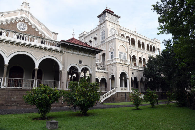 Gandhi memorial Aga Khan Palace royalty free stock images