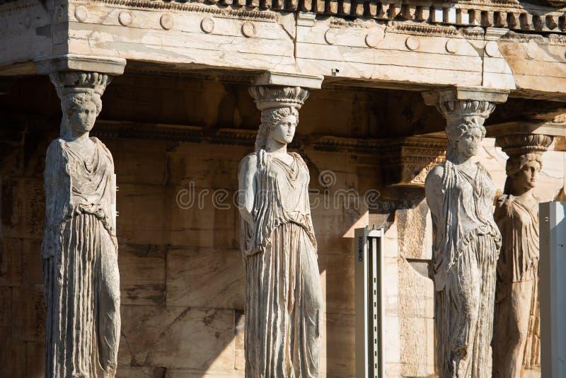 Ganeczek kariatydy, Ateny obrazy royalty free