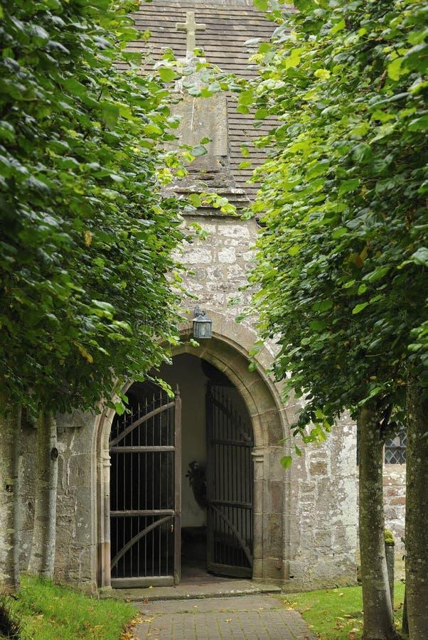 Ganeczek Stary Penallt Kościół fotografia stock