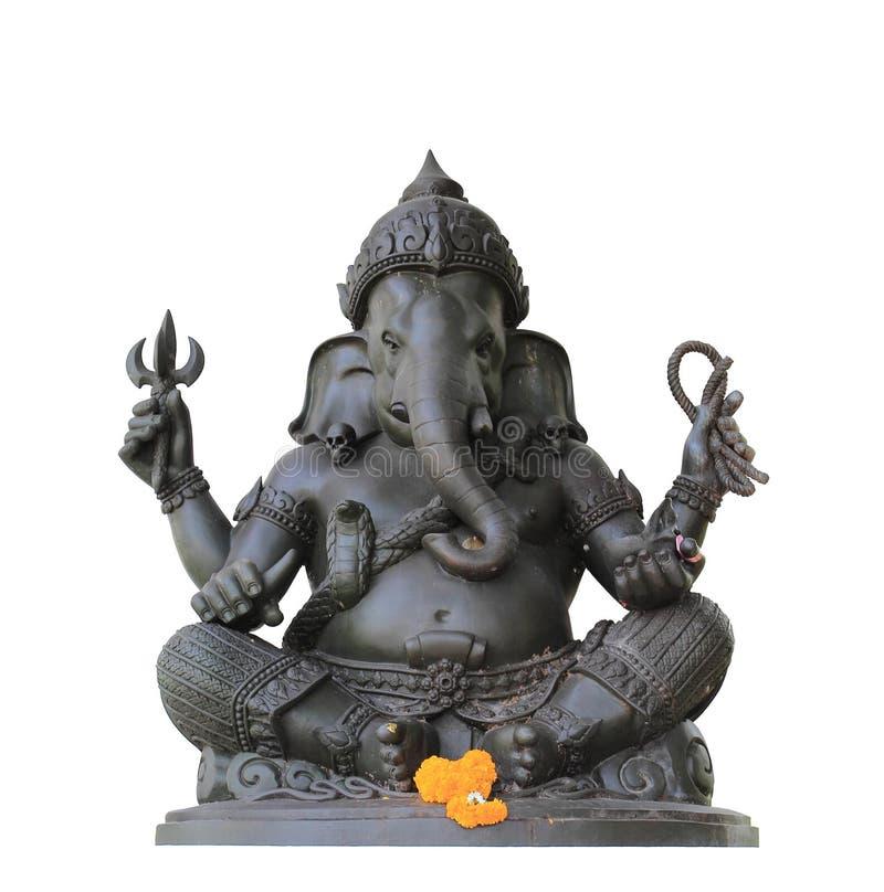 Ganesh图标隔离 免版税图库摄影