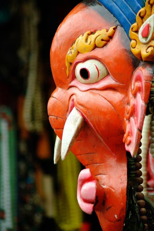 Ganesh面具 免版税库存照片