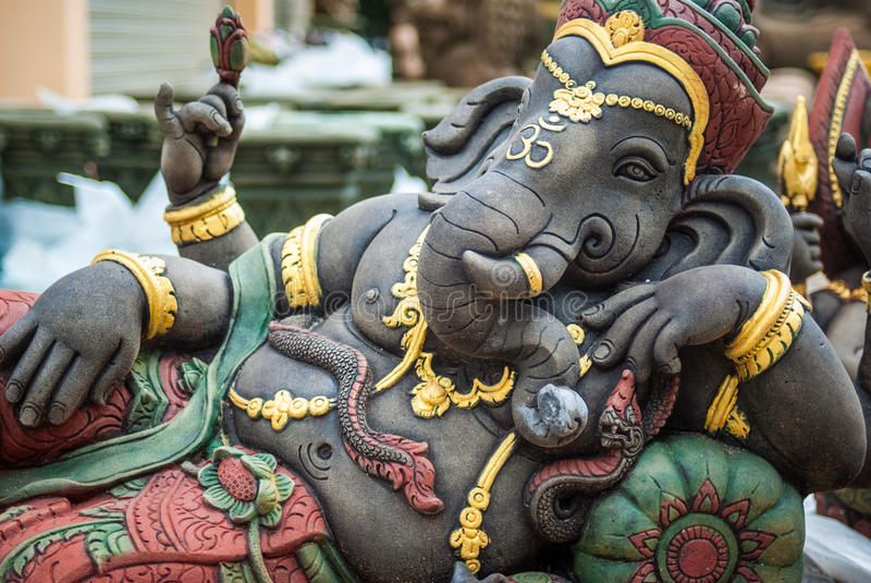 Ganesh,印度 免版税库存照片