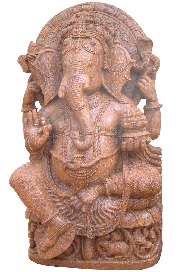ganesh ναός στοκ φωτογραφία