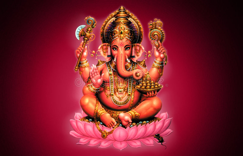 Ganesh illustration libre de droits