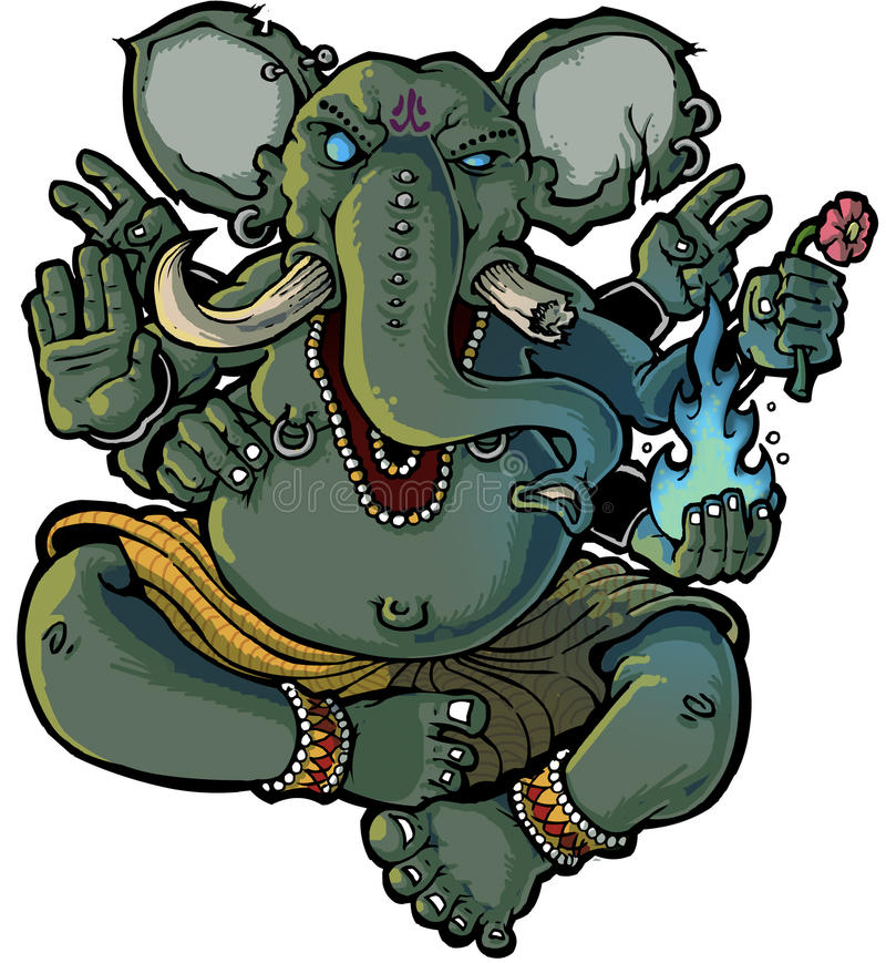 Ganesh στοκ εικόνες με δικαίωμα ελεύθερης χρήσης