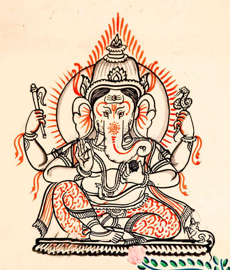 Ganesh lizenzfreies stockfoto