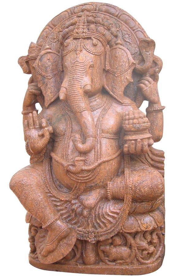 Ganesh bij tempel stock fotografie