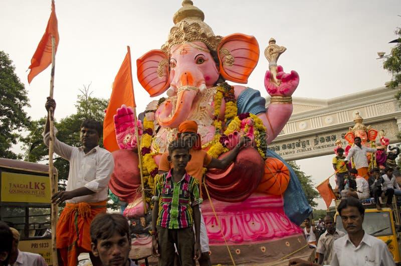 Ganesh Chaturthi 免版税库存照片