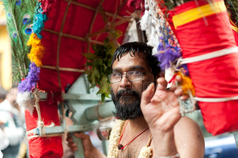 Ganesh Chturthi印度节日庆祝 免版税库存图片