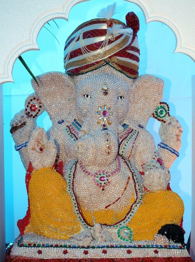 Ganesh da pérola imagem de stock royalty free