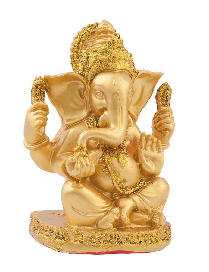 Ganesh dourado imagem de stock royalty free