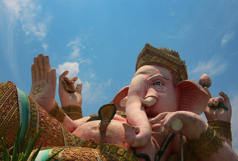 Ganesh grand photographie stock libre de droits