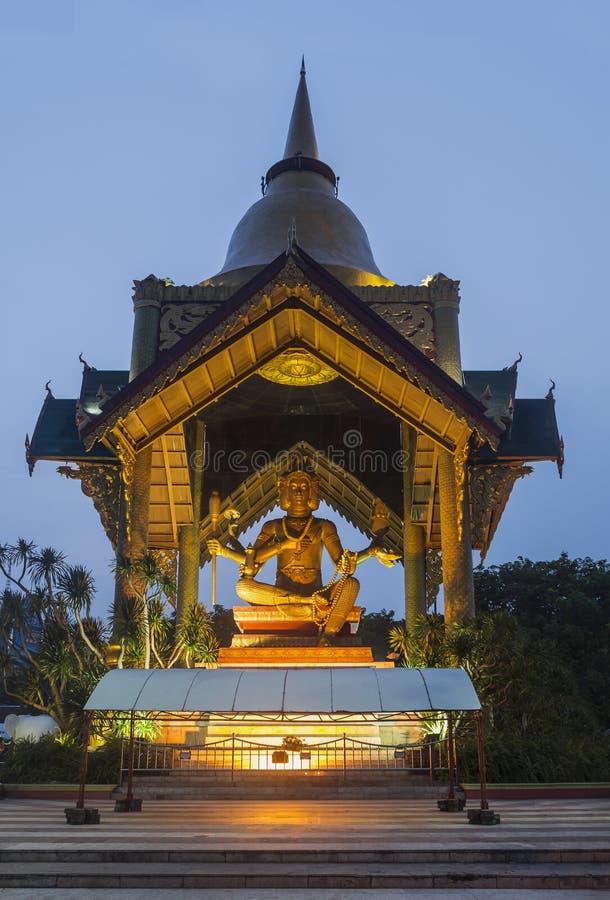 Ganesh Himal在苏拉巴亚,印度尼西亚 免版税图库摄影