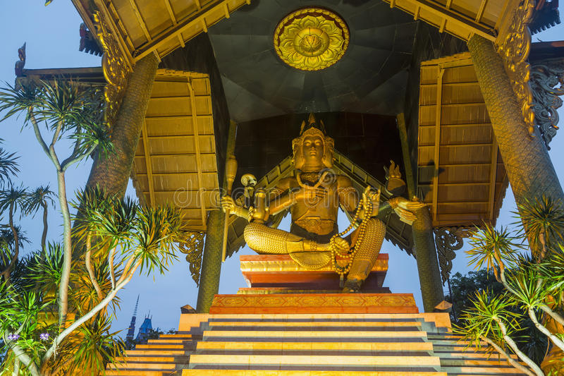 Ganesh Himal i Surabaya, Indonesien arkivbilder