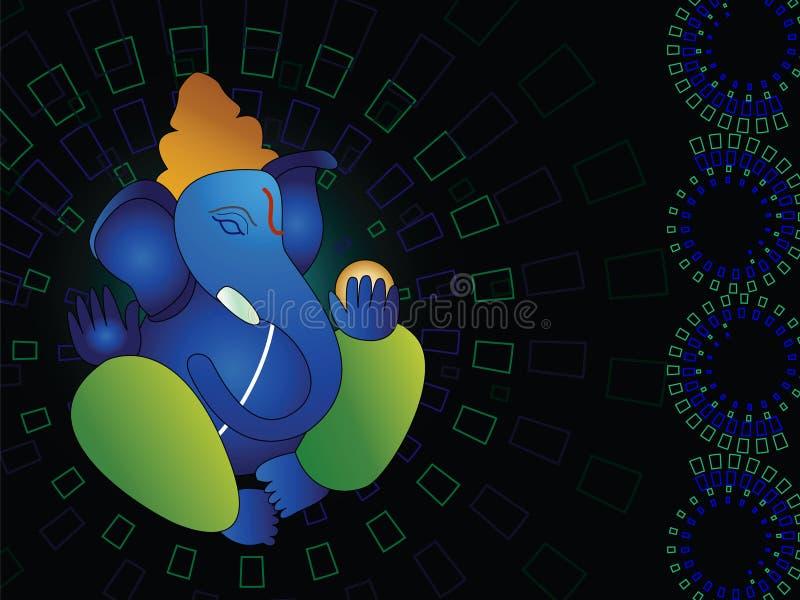 Ganesh indù di Dio fotografie stock libere da diritti