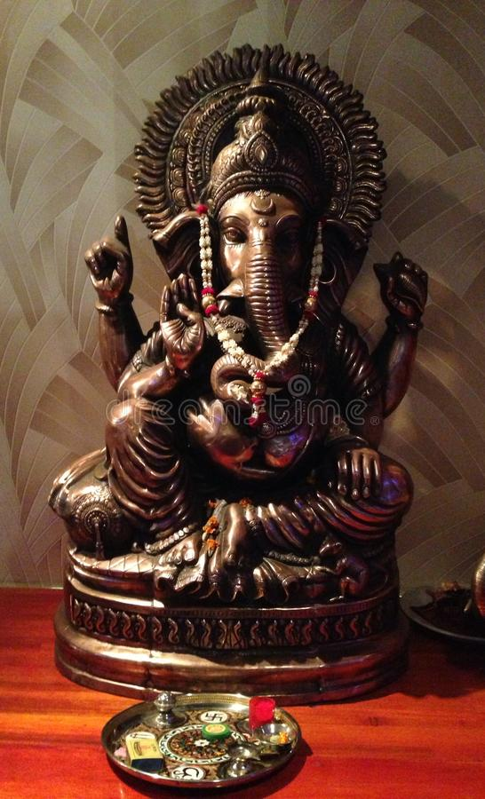Ganesh Indian God Elephant Buddha fotografia de stock royalty free
