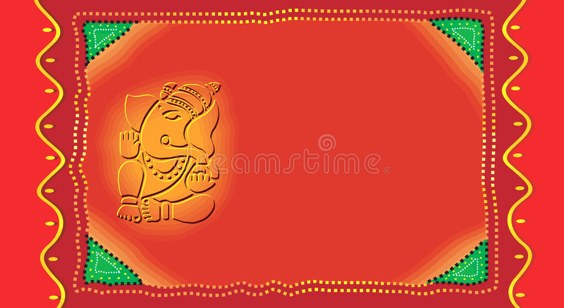 Ganesh on invitation card stock vector illustration of lotus 3478019 download ganesh on invitation card stock vector illustration of lotus 3478019 stopboris Image collections
