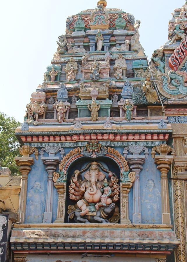 Ganesh near the Meenakshi Temple stock photo