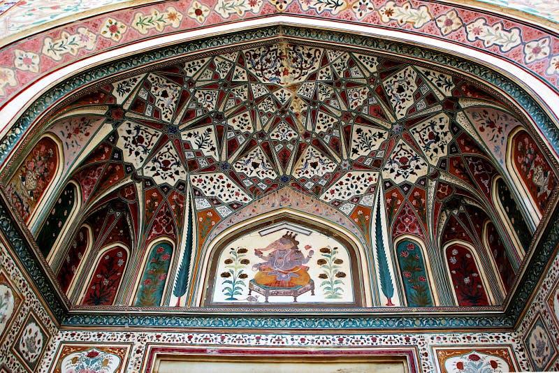 Ganesh Pol, Amer Palace, Jaipur images libres de droits
