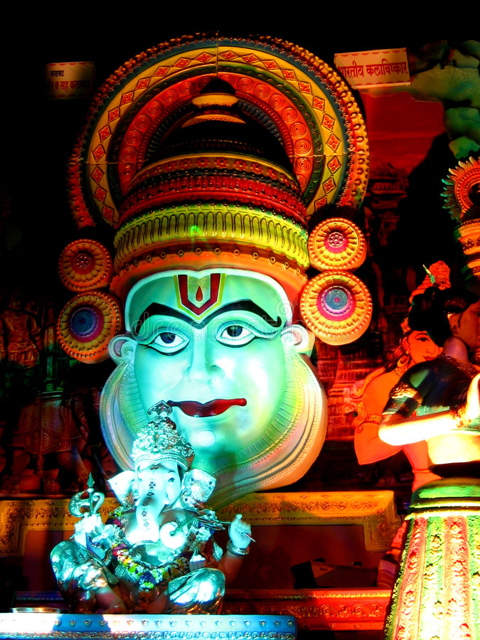 Download Ganesh Procession stock photo. Image of color, colour - 1571022