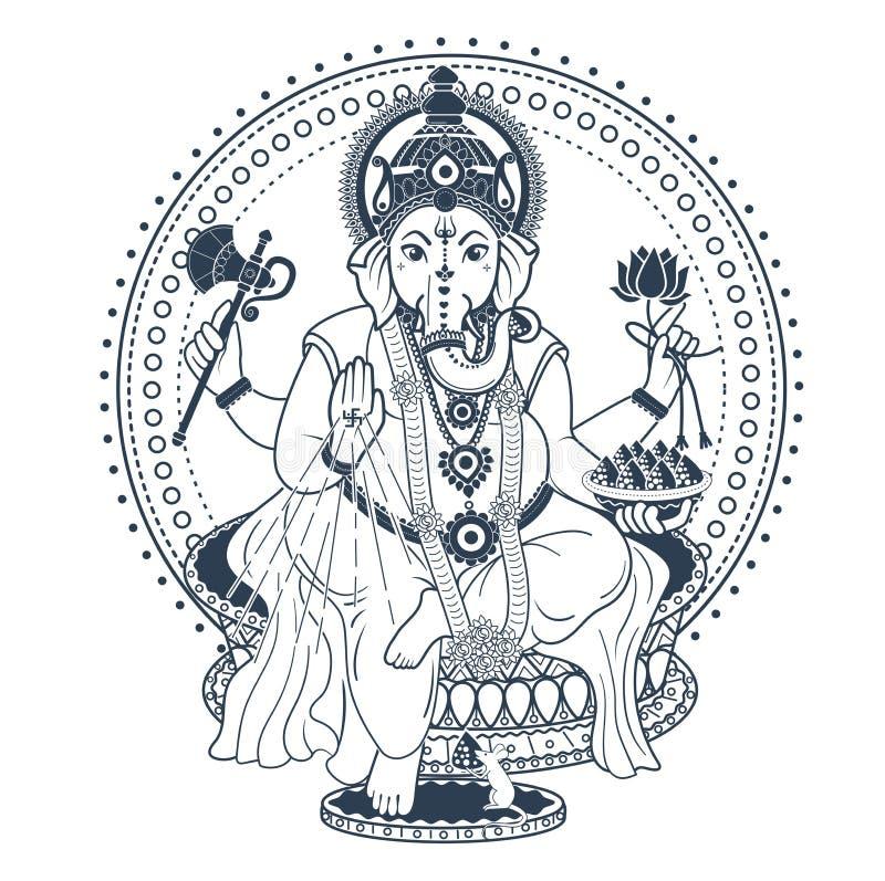 Ganesh Puja Stock Illustrations 217 Ganesh Puja Stock