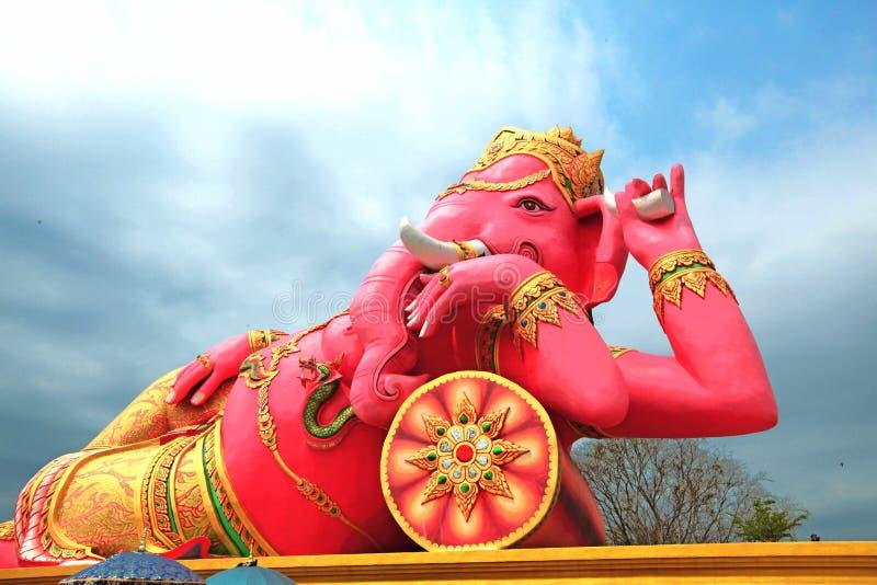 Ganesh at the shrine stock photography