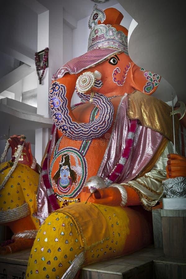 Ganesh Shrine hindú foto de archivo libre de regalías