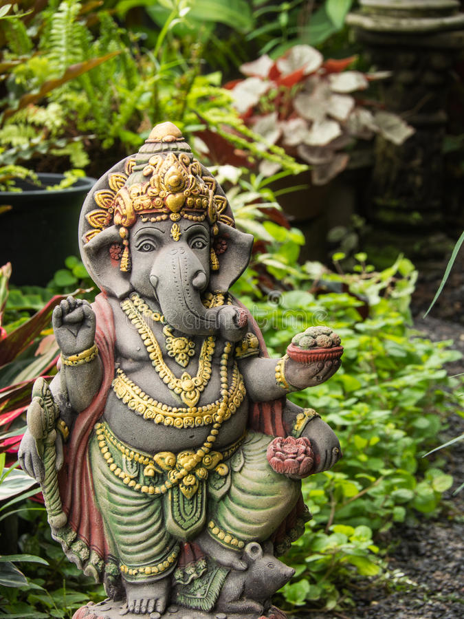 Download Ganesh Statue God Of Artistic Standing Stock Photo   Image Of  Happinesshindu, Meditation: