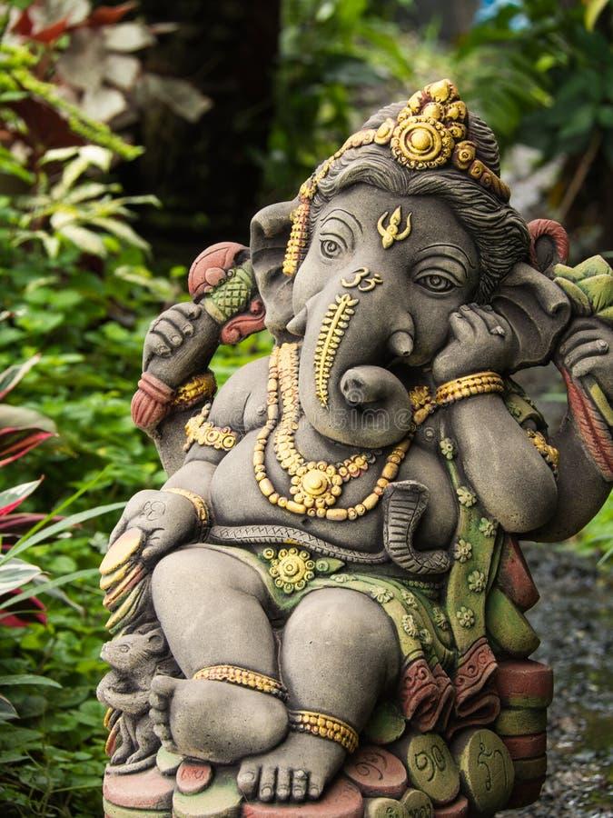 Ganesh statuy bóg nieśmiertelność obraz royalty free