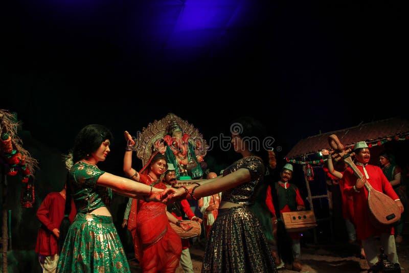 Ganesh Utsav 4 fotografia de stock
