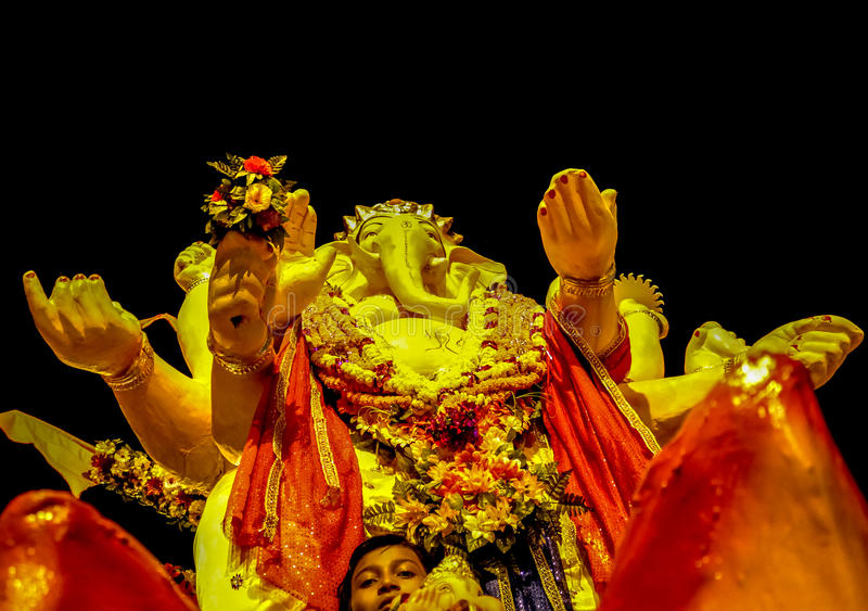 Ganesh Utsav fotografia stock