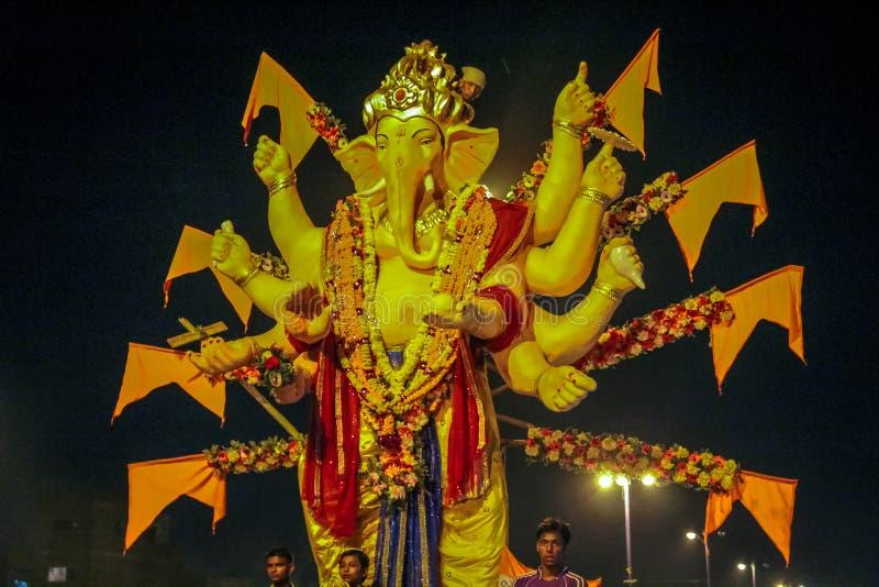 Ganesh Utsav стоковые изображения