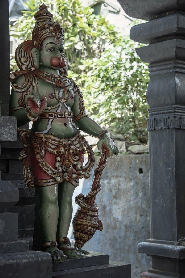 Ganesha雕象Aadishakti Seeta阿曼寺庙的Elelphant上帝 免版税库存照片