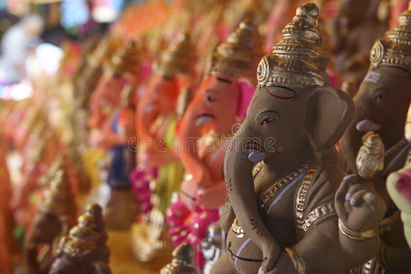 Ganesha阁下环境友好的神象 库存照片