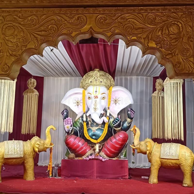 Ganesha бога стоковое изображение rf