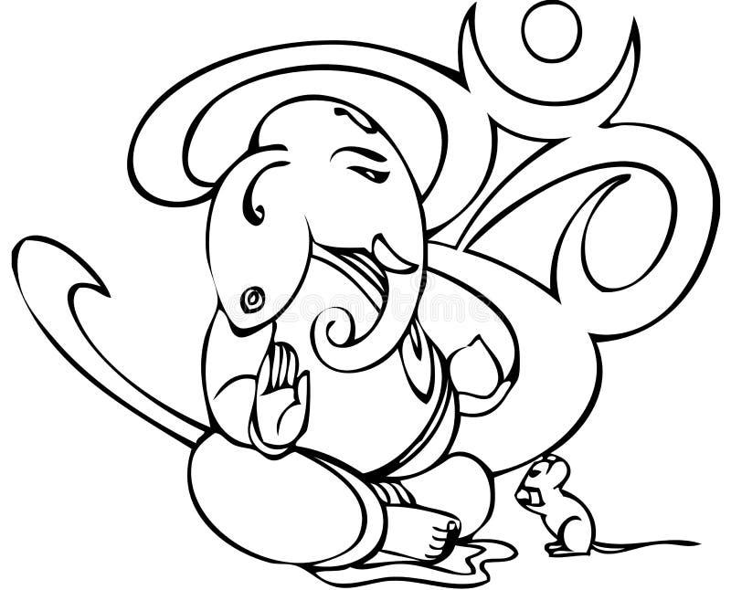 ganesha διανυσματική απεικόνιση