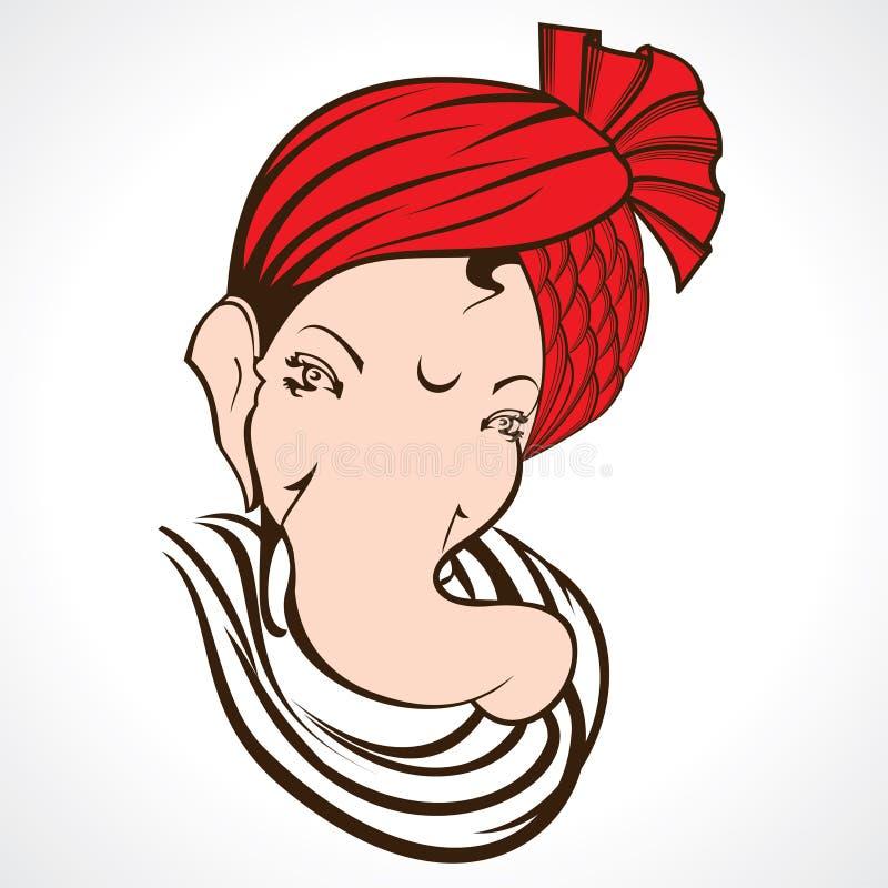 Download Ganesha Ablage vektor abbildung. Illustration von feuerwerk - 27733614