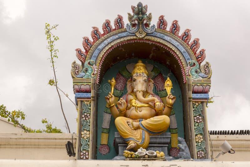 Ganesha al tempio indù immagine stock libera da diritti
