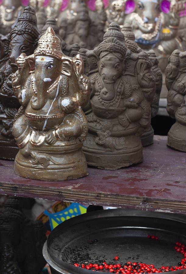 Ganesha bénissent tout l'être humain images libres de droits