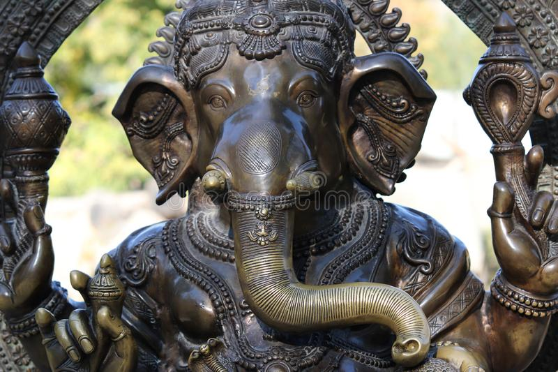 Ganesha - bóg Hinduski fotografia royalty free