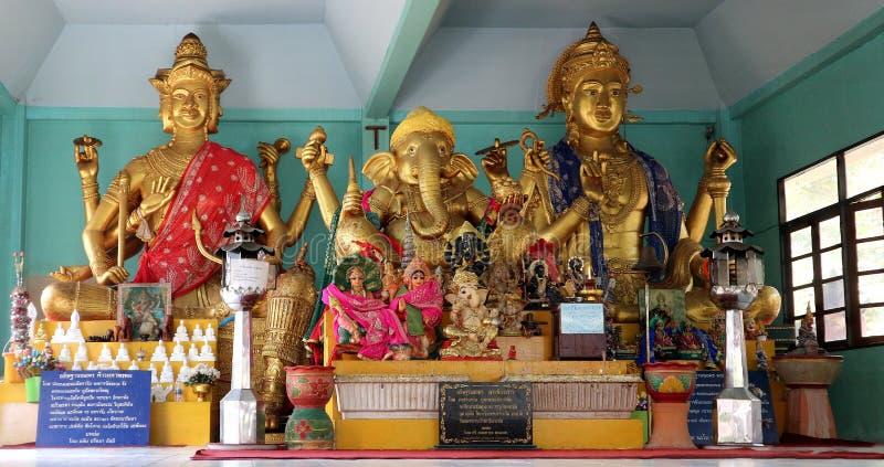 Ganesha conhecido em Tailândia como Phra Pikanet imagem de stock