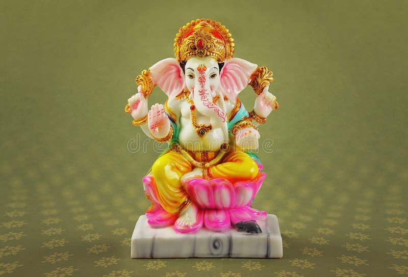 Ganesha da pedra fotografia de stock