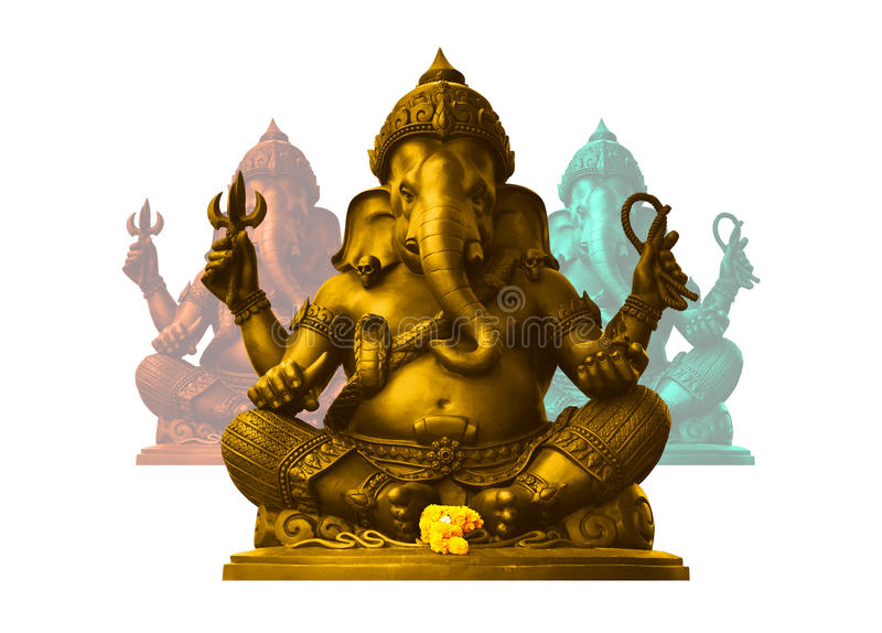 Ganesha, deus de Hindu imagem de stock royalty free