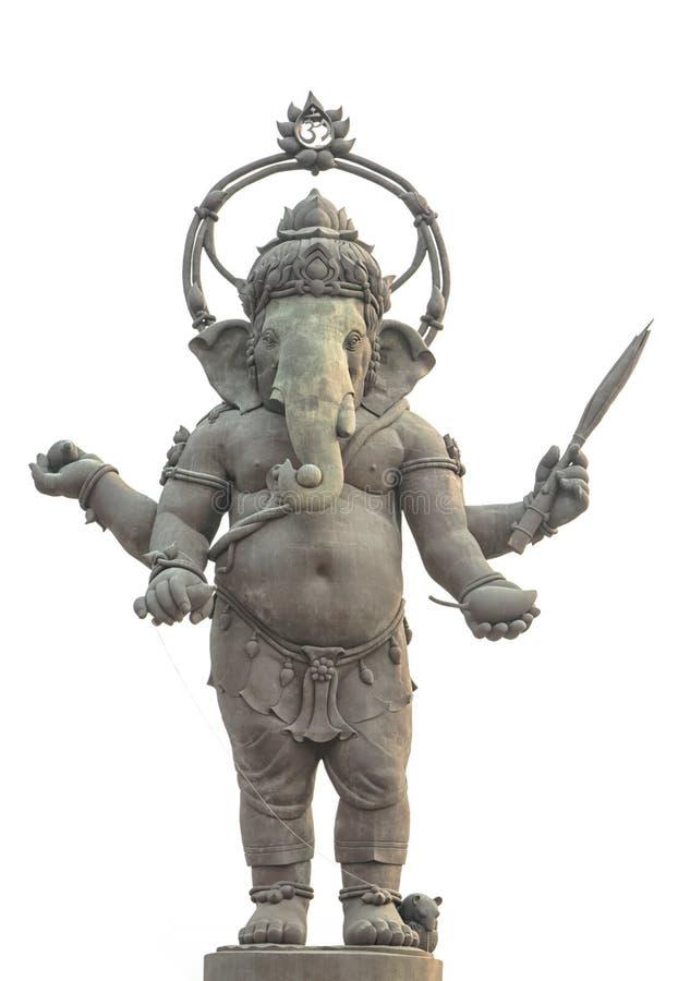 Ganesha, estatua hindú de dios foto de archivo
