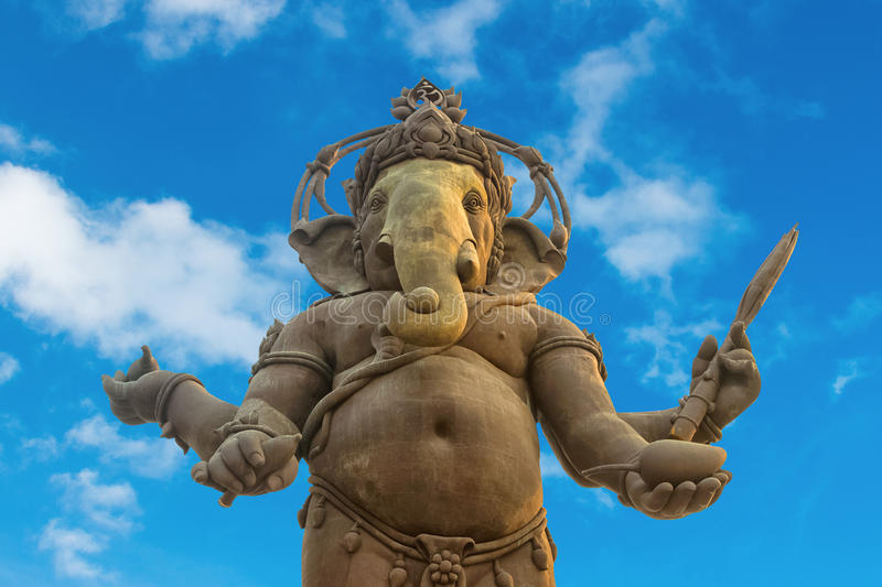 Ganesha, estatua hindú de dios fotos de archivo libres de regalías