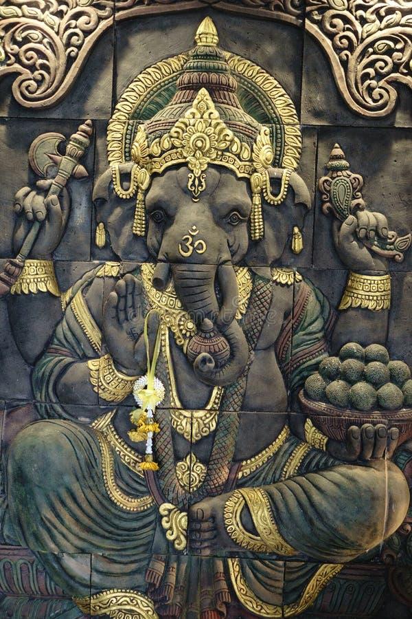 Ganesha god stock image
